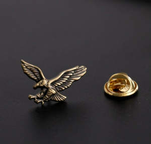 Meirenpeizi 1Pcs Suit Small Metal Accessory Brooch Men Pin
