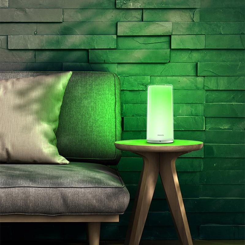 Nieuwe stijl Xiao mi mi jia smart Led BEDLAMPJE Rgbw DIMBARE Nachtlampje Usb TYPE c WIFI Bluetooth 100 240V Smart mi Thuis APP - 3