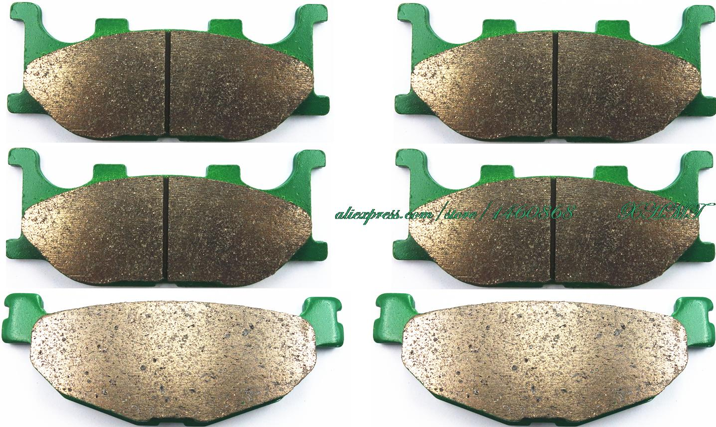 Brake Pad Set for YAMAHA XP500 TMAX500 T-MAX500 XP500 XP 500 T MAX T-MAX TMAX 2004 2005 2006 2007