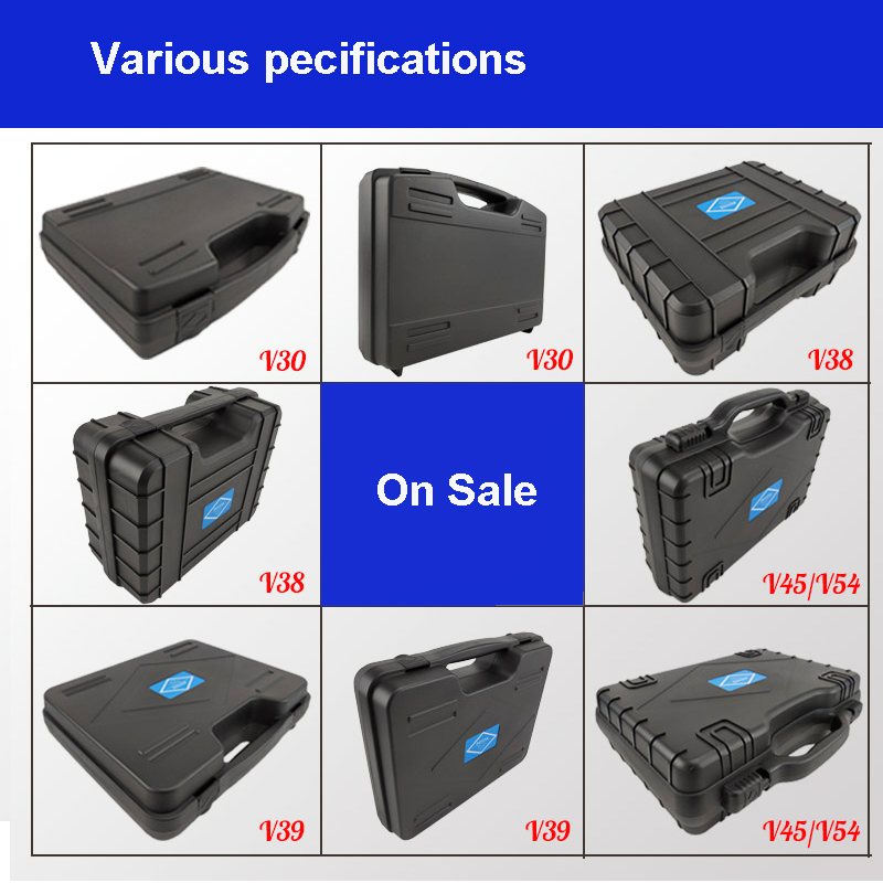 Plastic Safety Box Photographic Instrument Tool Case Hardware Toolbox Impact Resistant Sealed Waterproof Box With Pre-cut Foam