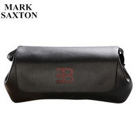 Unique Design Famous Brand Genuine Leather Bag High Quality Business Casual Men Clutch Bag Cowhide Handbags