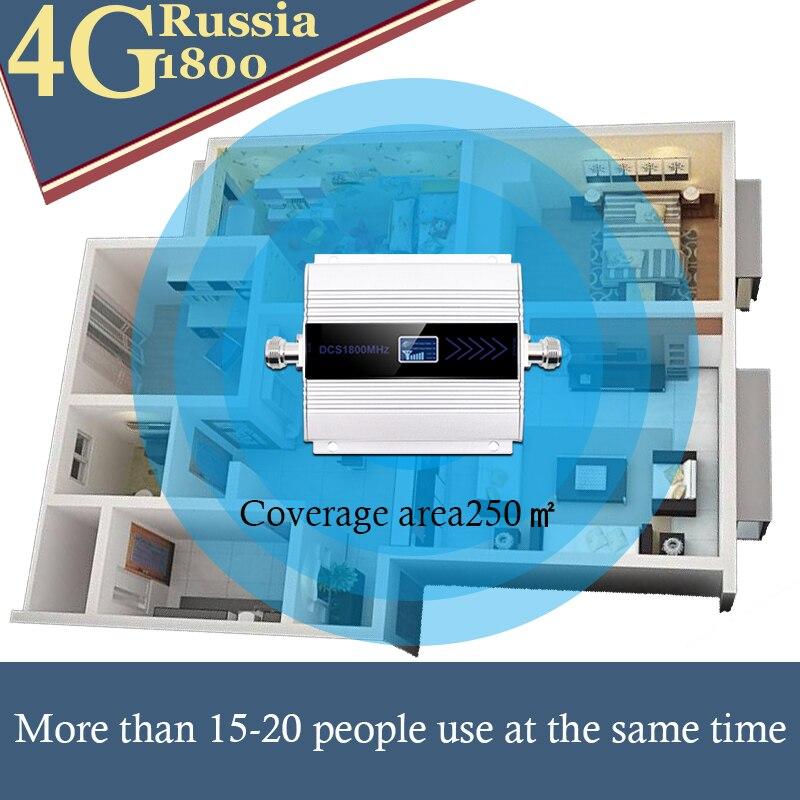 1800 amplificateur cellulaire répéteur 2g 4g 1800mhz GSM amplificateur de Signal Mobile 4g amplificateur de signal 1800 dcs téléphone cellulaire - 5