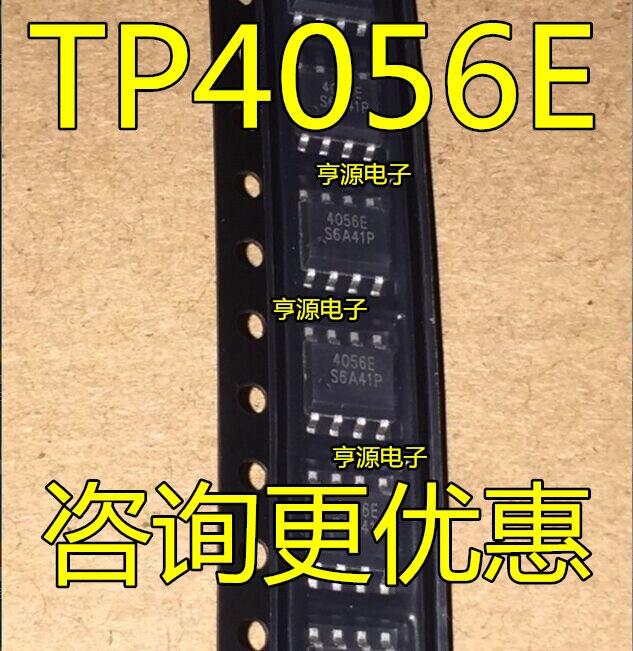 10pcs/lot TP4056 TP4056E 4056E SOP-8 In Stock