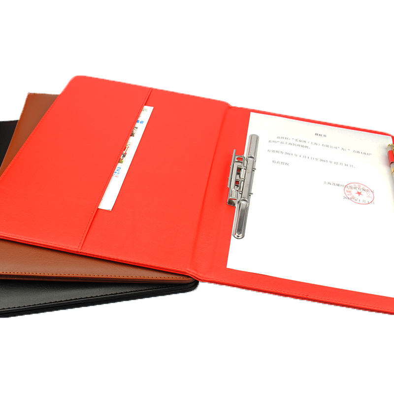 Aliexpress.Com : Buy Leather A4 Business Manager Portfolio