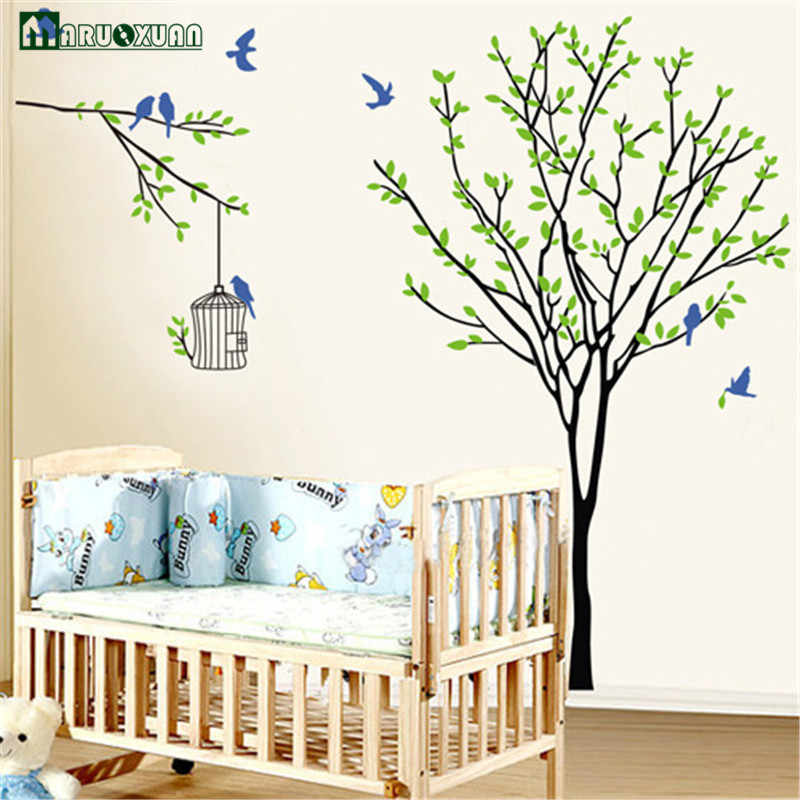 Decorative Removable Tree Vinyl Wall Stickers Mural Art Decal For Home Sticker Bedroom Decals Adesivo De Parede Stikers