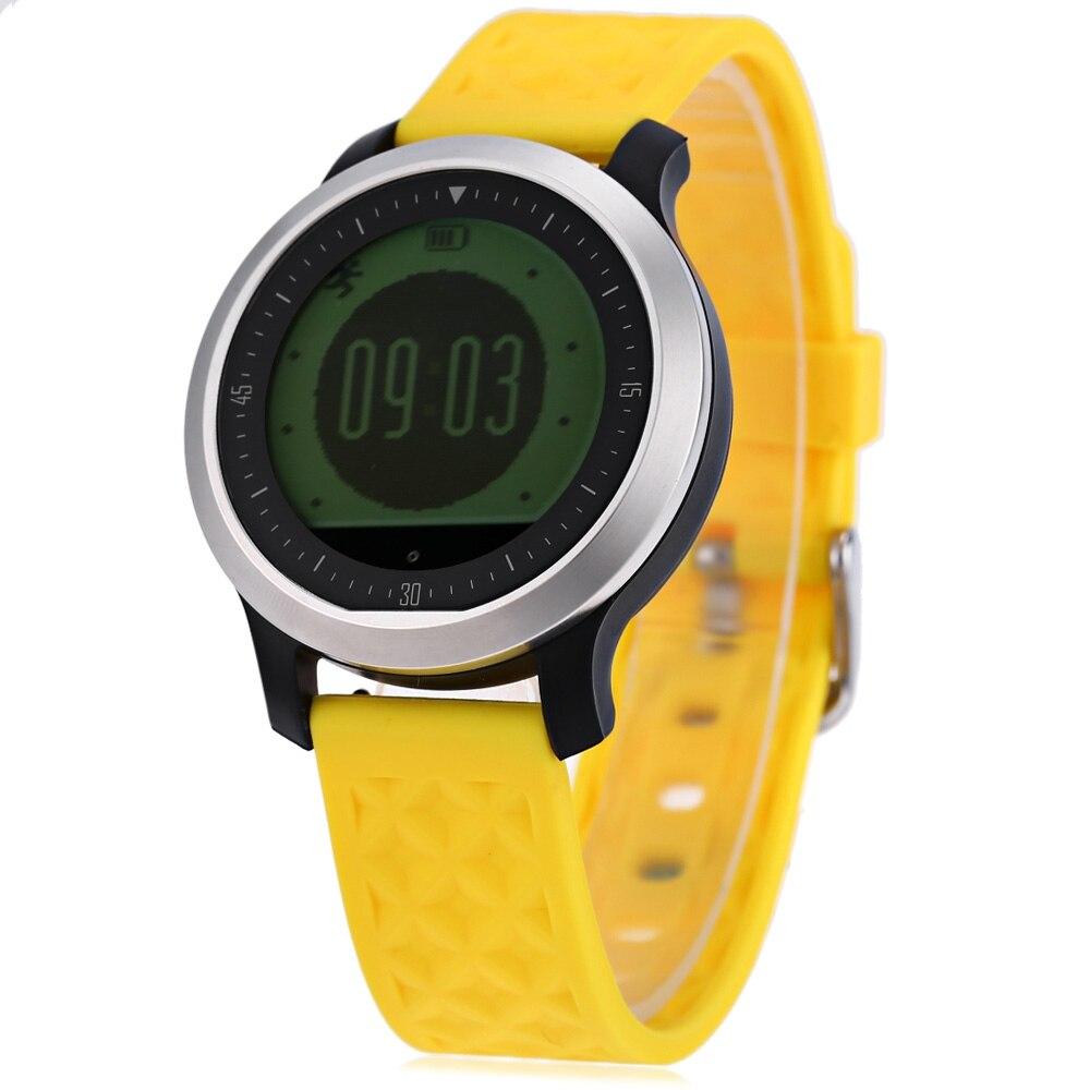 Sport Swimming Waterproof Bluetooth font b Smartwatch b font F69 Heart Rate Monitor Watch Pulsometer Smart