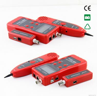 Prix pour Livraison gratuite, Noyafa NF-838 fil Tracker Tone generator 5 sortes de câble peut être trace situé : RJ45 / RJ11 / BNC / USB / 1394