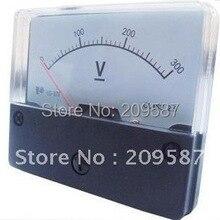 Аналоговый вольтметр для напряжения Панель метр(DC) 0-300 в