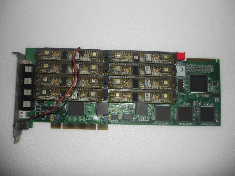 цена на Original voice card D161A with 8 internal 8 external modules