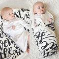 Carrinho de criança Crianças Bebê Recém-nascido Cobertor Swaddle Saco de Dormir Sleepsack Envoltório Do Bebê Receber Cobertores
