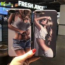 Здесь можно купить   Sexy Girls 3D Relief Silicone Phone Case For iPhone 7 7Plus 6 6S Plus Fashion Bikini Beauty Soft TPU Cover For iPhone 5 5S SE Mobile Phone Accessories & Parts