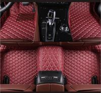 3D Luxury Slush Floor Mats Foot Pad Mat For 14 17 Tesla Model S 2014 2015 2016 2017 2018 (6colors)