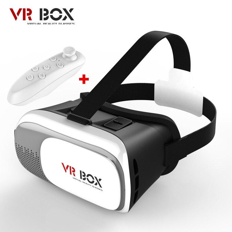 <font><b>VR</b></font> <font><b>Box</b></font> ii 2.0 Headset <font><b>Virtual</b></font> <font><b>Reality</b></font> 3D <font><b>Video</b></font> <font><b>Glasses</b></font> Helmet Cardboard <font><b>Mobile</b></font> 3 D Cinema+Wireless Mouse / Bluetooth Controller