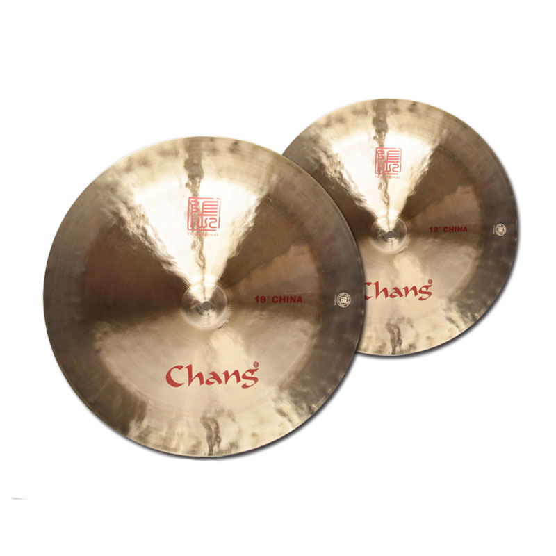 ФОТО CHANG 12 14 16 18 inch Traditional China Cymbal Drum Accessories