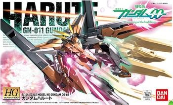 Bandai Gundam 64576 00 HG 1/144 HARUTE Mobile Suit Assemble Model Kits Anime Action Figures Toys for children Gift 1