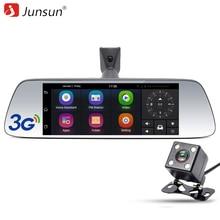 """Junsun 7 """"especial 3G DVR Del Coche Espejo de La Cámara Android 5.0 Con GPS de navegación de Automóviles Dvr Dash Cam Video Recorder espejo"""