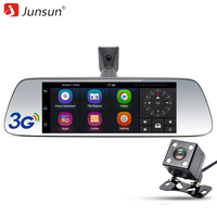 Junsun New 7 Special 3G Car DVR Camera Mirror Android 5 0 With GPS Automobile