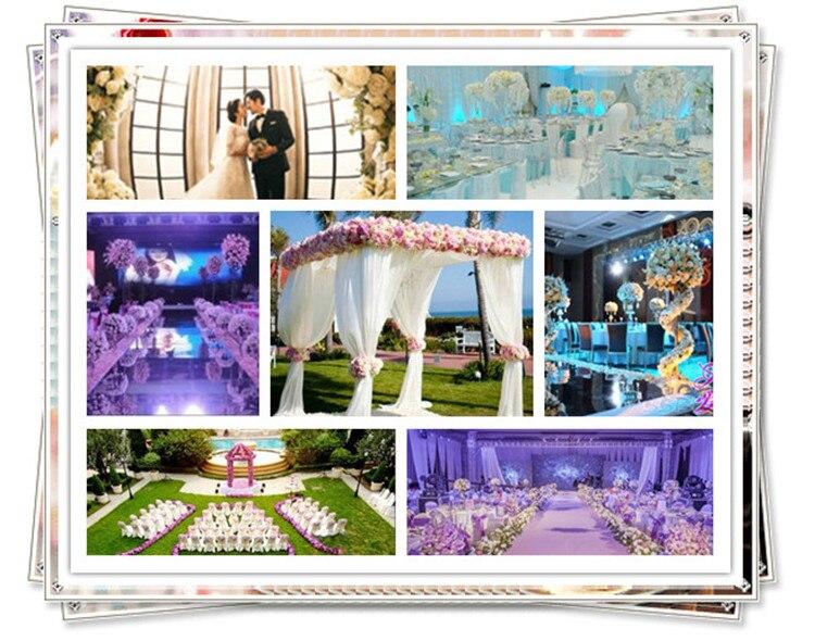 60 * 40cm Hydrangea DIY huwelijksboog instellen wanddecoratie Road - Feestversiering en feestartikelen - Foto 6