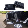 2x LED двери Автомобиля логотип проектор свет Для Nissan Qashqai Juke X-trail Tiida примечание almera pathfinder primera j11 teana Аксессуары