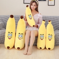 GGS 55cm Soft Stuffed Plush Toys Banana Plush Toys Cute Stuffed Pillow Baby Novelty Toy For