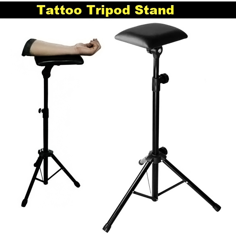 Bracket Armrest Stand Adjustable Height Holder Tattoo Tripod Machine Supplies Accesories With Sponge цена 2016