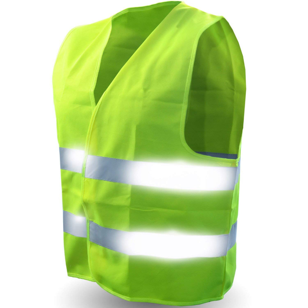 Safety reflective vest suitable for camping hunting construction traffic patrol riding sanitation workers protective clothing high quality chinese traffic reflective safety vest safety waistcoat sanitation reflective clothing working vest