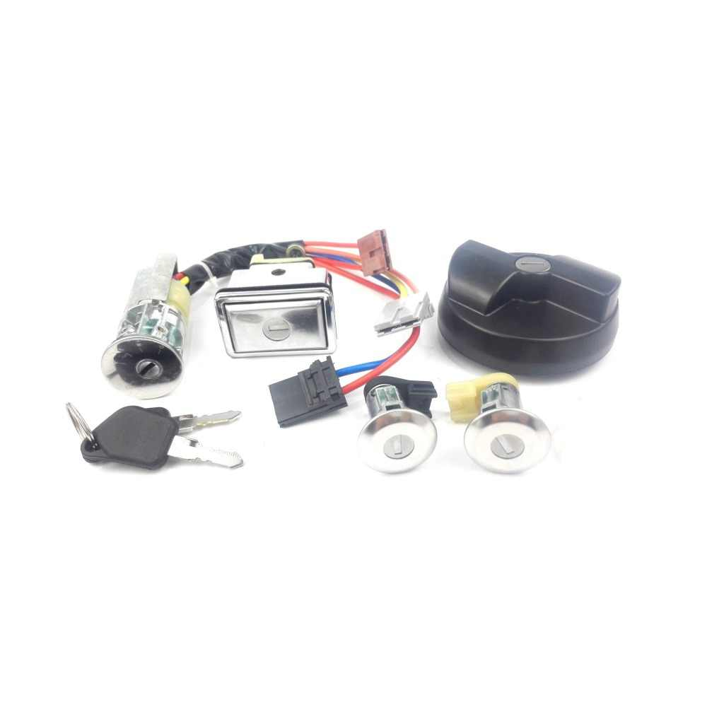 small resolution of  ignition switch with key for peugeot 405