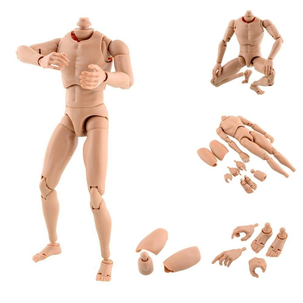 New Version Nude Blyth doll Narrow Shoulder 1:6 Scale Male Action Figure Nude Muscular Body for HOT TOYS TTM18 TTM19 1 6 scale figure doll clothes male jacket suit for 12 action figure doll accessories not include doll shoes and other no1505