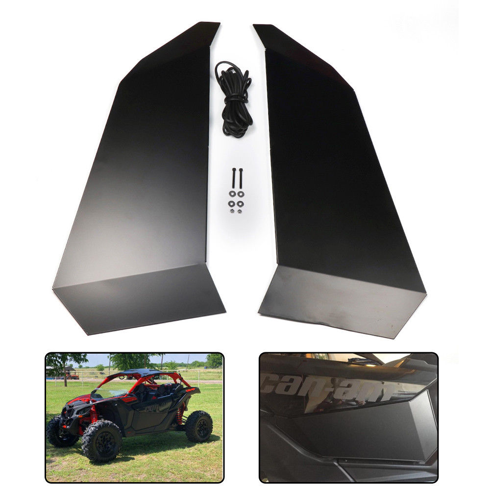 KEMiMOTO UTV Lower Door Inserts Panels UTV Doors 2017-2018 For Can am maverick X3 XDS/Turbo XRS/R XRC/Turbo Aluminum васильев а самоучитель java с примерами и программами