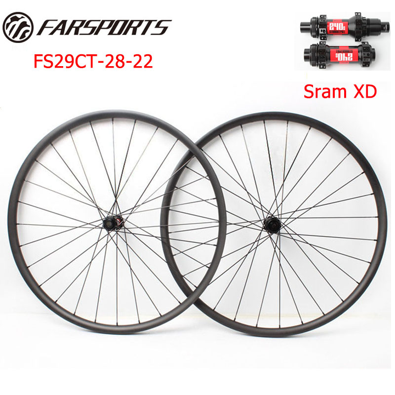 29er MTB Bike Boost Wheels with DT 240s Boost hubs Straight pull and Sapim cx ray spokes 28H ,for XC use farsports fsc38 tm 23 carbon cycling wheels 23mm 38mm tubular rims dt 240s hubs with sapim cx ray spokes total 1189g per set