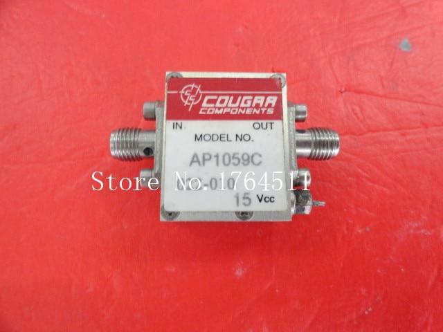 [BELLA] COUGRR ACP1059 5-1500MHz G:10dB 23dB Supply Amplifier 15V SMA