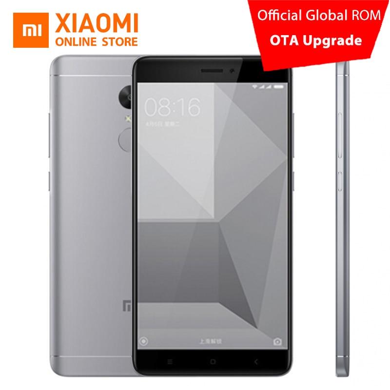 """Xiaomi Redmi Note 4X 3GB RAM Mobile Phone 32GB ROM Snapdragon 625 Octa Core CPU 5.5"""" 1080p display 13MP Camera 4100mah MIUI8.1"""