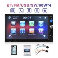 Newest 7 LCD Autoradio 2 Din Car Mp5 Player With Mirroring Android Bluetooth Multimedia Car Radio Stereo FM USB Audio Car Radio