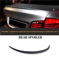 5 Series ABS Rear Trunk Lid Spoiler Wing for BMW F10 M Sport M5 Sedan 4 Door 2011 2017 520i 530i 535i