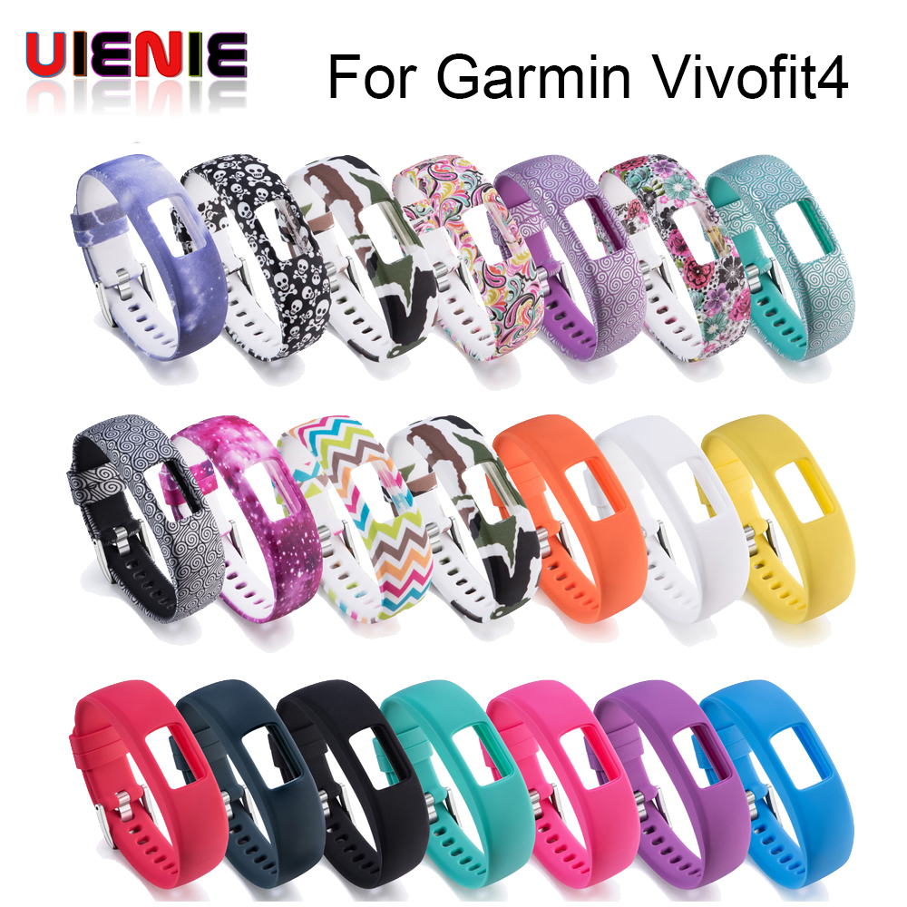 Replacement Silicone S L Wrist band Strap for Garmin Vivofit 4 Activity Fitness Tracker Watchbands For Garmin Vivofit4 WristbandReplacement Silicone S L Wrist band Strap for Garmin Vivofit 4 Activity Fitness Tracker Watchbands For Garmin Vivofit4 Wristband