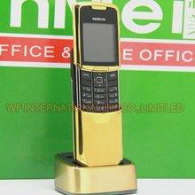 Nokia 8800 Классический мобильный телефон 2G GSM Unlcocked 8800 Русский Арабский Английский Клавиатура золото отремонтированный