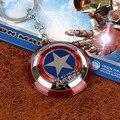Super Hero Мстители Капитан Америка Щит Металлический Брелок Подвеска Брелок Брелок Кошелек Пряжки Аксессуары Подарок