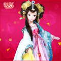 29cm Kurhn Princess Wencheng Ethnic Dolls Orign Chinese ancient beauty Princess Doll  Movable Jointed Doll Kid toys Girl Gift