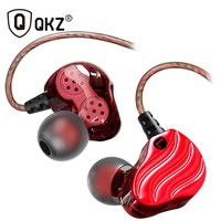 Newest QKZ KD4 Dual Drivers In Ear Wired Earphones Headphones Sports Ear Hook For Iphone In