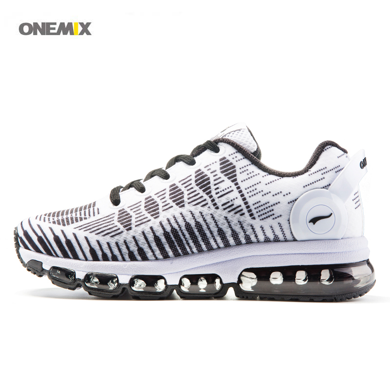 ONEMIX 2017 New Men's Women's sport running shoes mesh comfort speed training light air cushion breathe athletic sneakers 1216B 2017brand sport mesh men running shoes athletic sneakers air breath increased within zapatillas deportivas trainers couple shoes