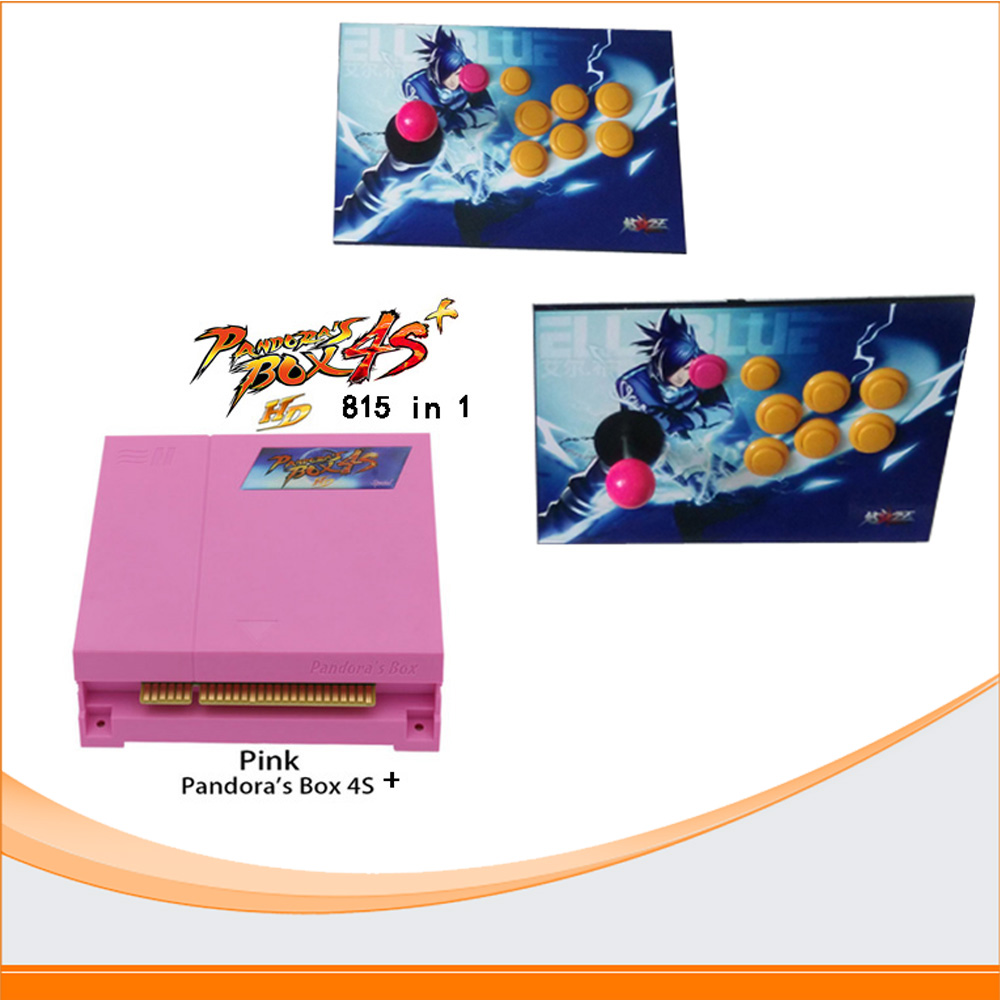 The Family Professional classic design arcade video game player Pandora's Box 3 520 multi game in 1
