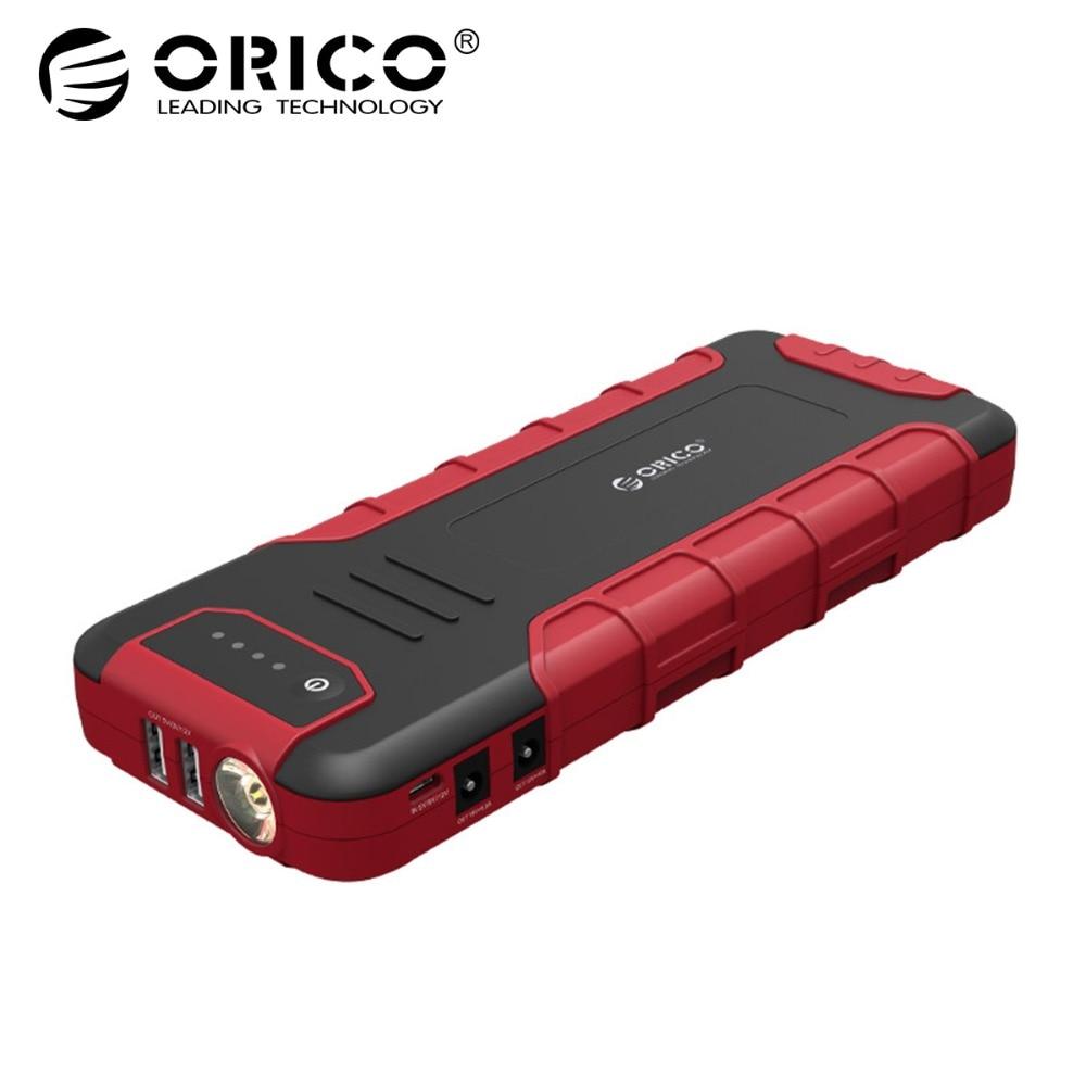 ORICO CS3 18000 мАч Мощность Bank Многофункциональный Портативный мобильный QC3.0 Батарея двигатель автомобиля Booster чрезвычайных Мощность банк