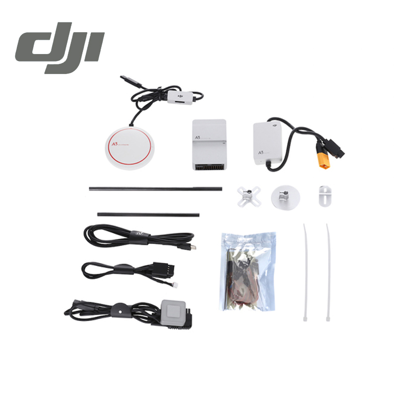 DJI A3 Flight Controller ( with GPS ) Drone Quadcopter Fly Control Original jiyi multi rotor p2 pro flight controller gps led mup diy drone better than dji naza v2 w black box function quadcopter