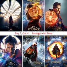 Doctor Strange Movie Posters Modern Style Wall Stickers White Coated Paper Prints Home Decoration