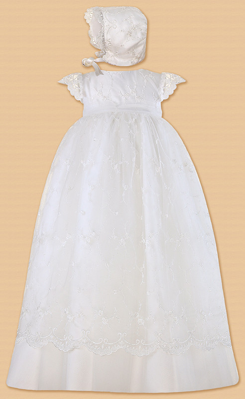 2016 Baby Girls Christening Dress Princess Tutu Baptism Wedding Lace Dress Toddler Kids Dresses for Girls 0-24month pudcoco baby girls dress toddler girls backless lace bow princess dresses tutu party wedding birthday dress for girls easter