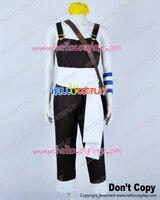One Piece Cosplay Usopp Usoppu Bib Overalls Brown Costume H008