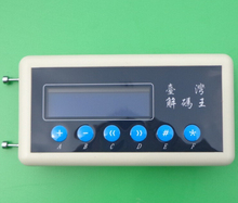 Carcode 1pc Freeshipping 433Mhz Remote Control Code Scanner 433 Mhz Code Detector key copier