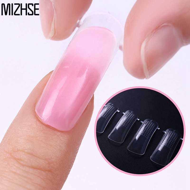 Detail Feedback Questions about MIZHSE Poly Gel False Nail Tips ...