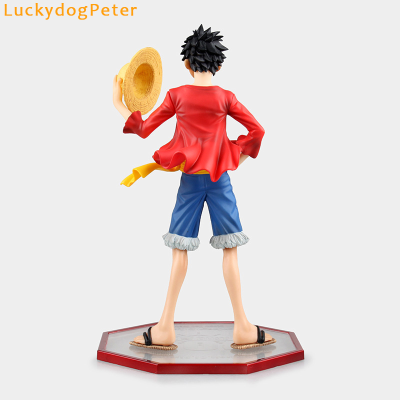 Toys & Hobbies One Piece Luffy Action Figure One Piece Film Gold Ver Monkey D Luffy Doll Pvc Acgn Figure Garage Kit Toy Brinquedos Anime 12cm For Sale