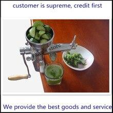 wheatgrass juicer stainless steel manual fruit juicer